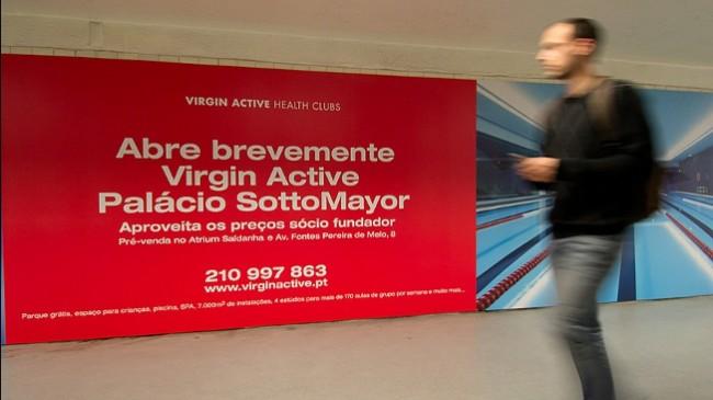 Virgin Active investe 7 milhões em Palácio