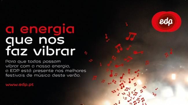 EDP oferece bilhetes para os Festivais