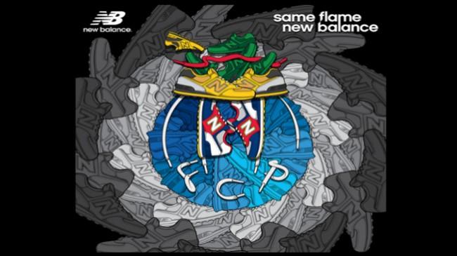 """New Balance """"joga"""" com FC Porto"""