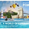 American Express promove Portugal no mundo