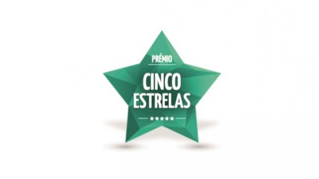 Prémio Cinco Estrelas cresce cerca de 100% face a 2015