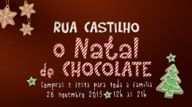 A Caixa é o banco oficial do Natal de Chocolate na Rua Castilho