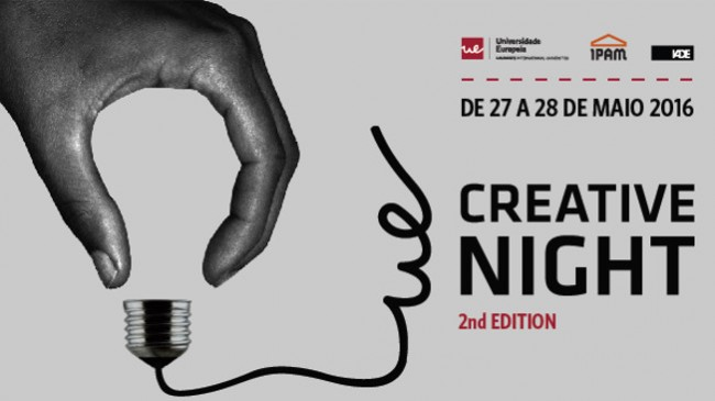 Um desafio criativo pela noite dentro?