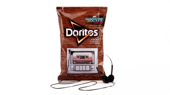 27 de abril de 2017. Embalagem de Doritos toca banda sonora de filme bfc9a14fea3