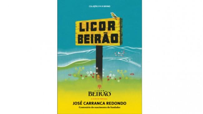 O livro Licor Beirão