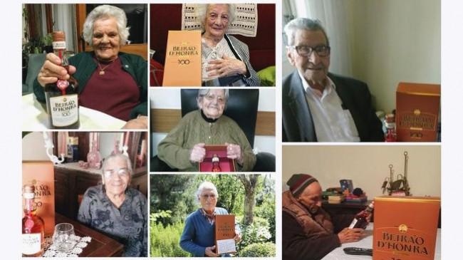 Licor Beirão oferece 100 garrafas a 100 avós centenários