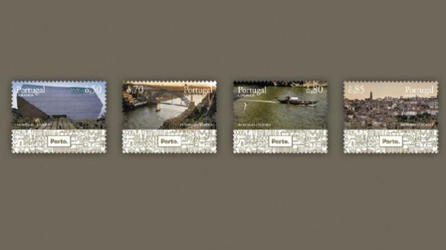 CTT homenageiam cidade Invicta em nova coleção de selos