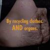 Etiquetas de roupa usada que podem salvar uma vida