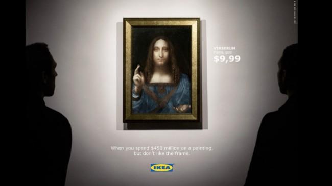 IKEA faz ironia sobre a venda do quadro mais caro da história