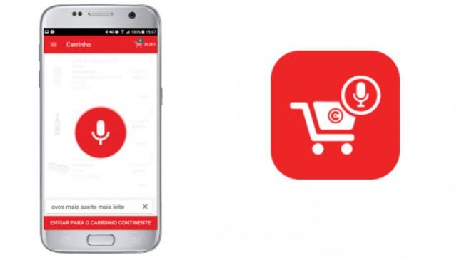 No Continente já há uma app para comprar com a voz