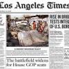"""The Los Angeles Times"" dispensa 250 empregados"