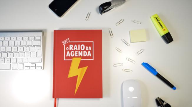 """Já comprou """"O Raio da Agenda"""" para 2017"""