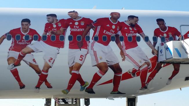 Parceria Emirates Benfica em altos voos