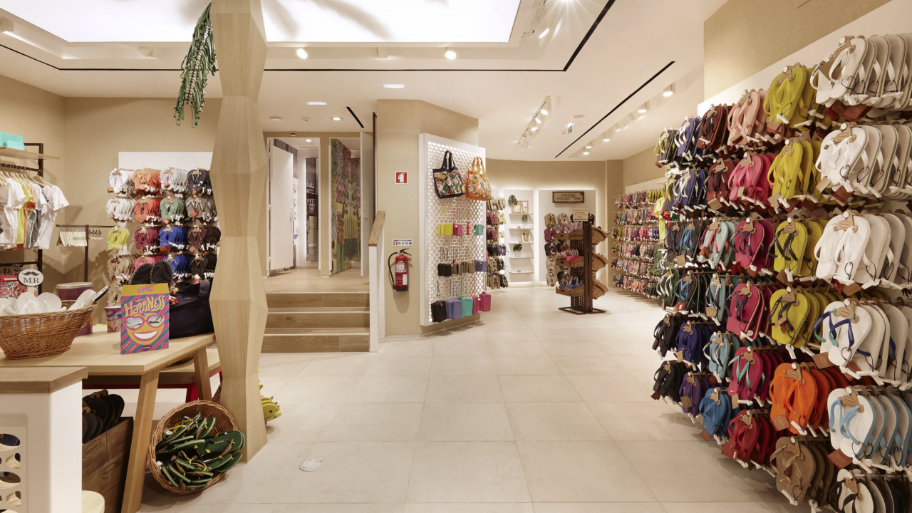 Havaianas inaugura a maior loja da Europa em Lisboa