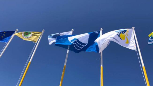 Centro do país com a bandeira azul mais antiga da Europa