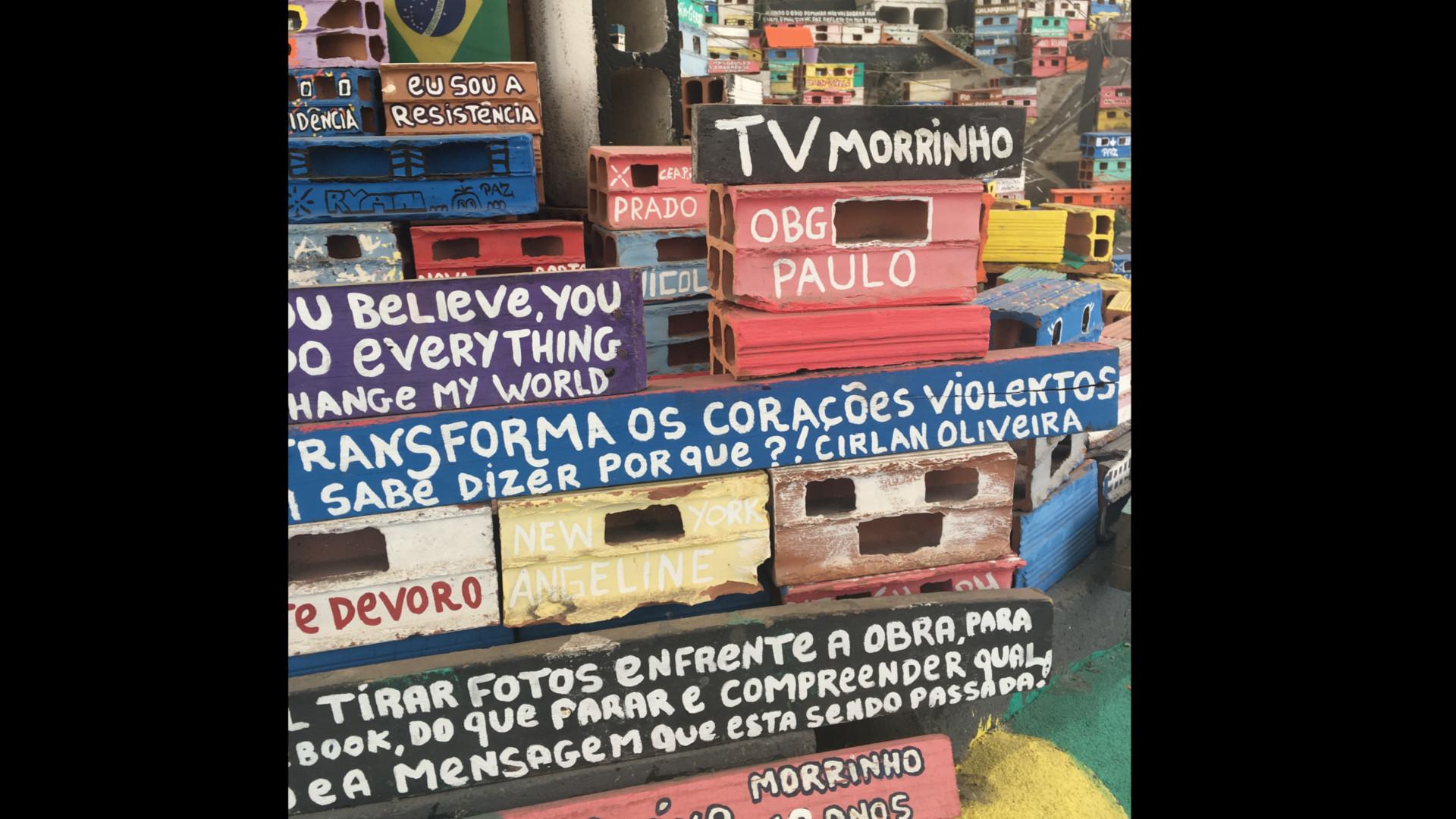 Os bastidores das gravações no Brasil