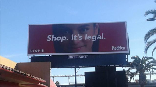O uso recreativo de marijuana já é legal na Califórnia… e chegaram os anúncios